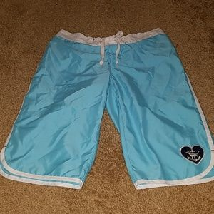 RARE PINK board/swim shorts XS